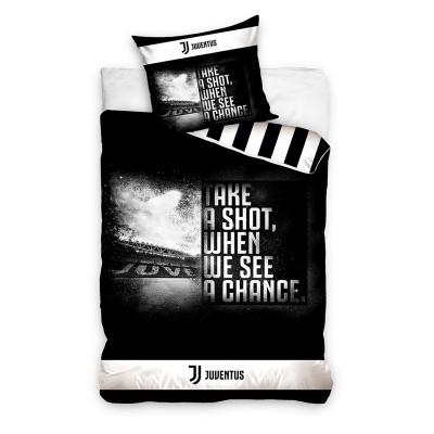 Juventus σετ παπλωματοθήκης 160 x 200 cm - επίσημο προϊόν (100-100-742)
