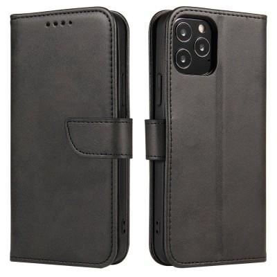 OEM θήκη πορτοφόλι για Samsung Galaxy A41 - Black (200-108-399)
