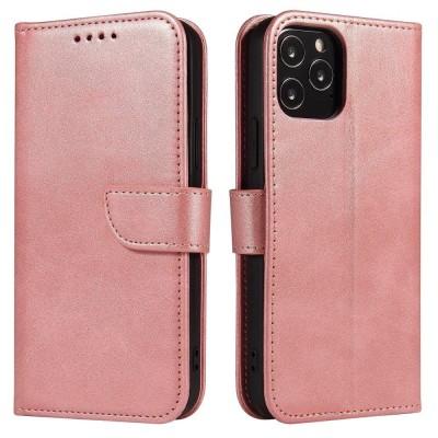 OEM θήκη πορτοφόλι για Samsung Galaxy A41 - Pink (200-108-398)