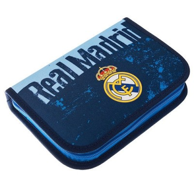 Σχολική Κασετίνα Real Madrid με το σήμα της ομάδας - Επίσημο Προϊόν (100-100-723)
