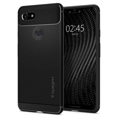 Spigen Google Pixel 3 XL Rugged Armor Black (F20CS25021)