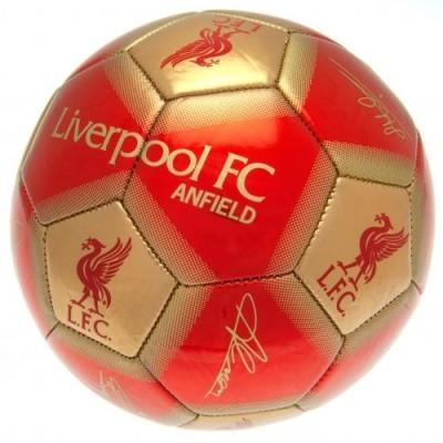 Ποδοσφαιρική Μπάλα Liverpool (Υπογεγραμμένη)- Επίσημο Προϊόν 100-100-882