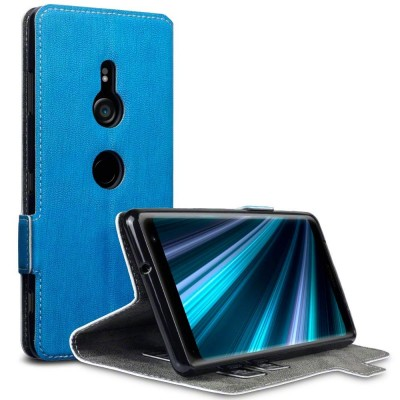 Terrapin Low Profile Θήκη - Πορτοφόλι Sony Xperia XZ3 - Light Blue (117-005-641)