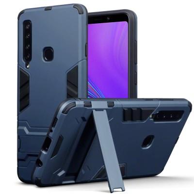 Terrapin Ανθεκτική Dual Layer Θήκη Samsung Galaxy A9 2018 - Blue (131-002-114)