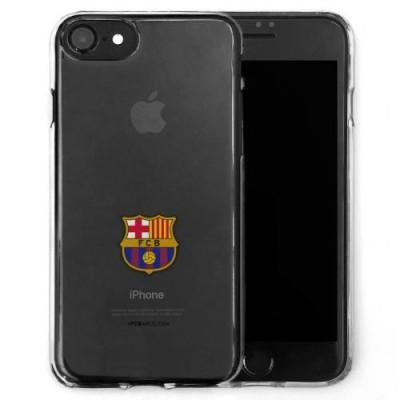 Barcelona θήκη σιλικόνης διάφανη για iPhone 8/7 - Επίσημο προϊόν  (100-100-628)