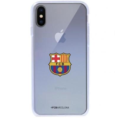 Barcelona Θήκη σιλικόνης διάφανη για iPhone X - Επίσημο προϊόν (100-100-630)