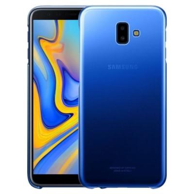 Official Gradation Cover - Σκληρή Θήκη Samsung Galaxy J6 Plus 2018 - Blue (EF-AJ610CLEGWW)