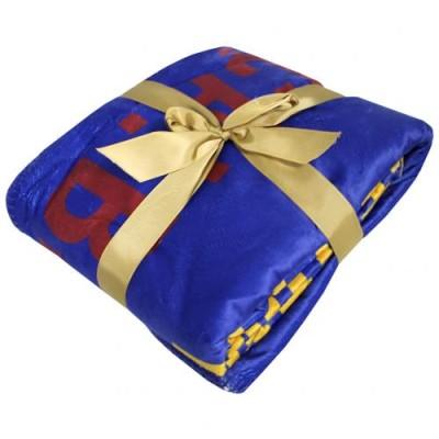 Fleece κουβέρτα Μπαρτσελόνα με Σέρπα 175cm x 125cm  - Επίσημο προϊόν (100-100-588)