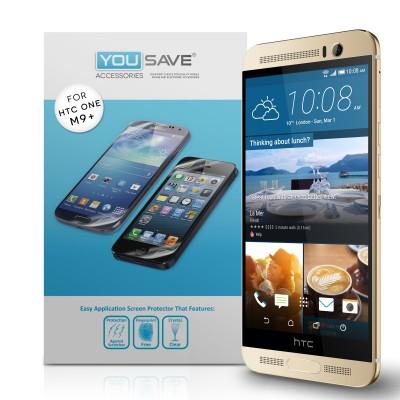 Μεμβράνη Προστασίας Οθόνης HTC One M9 Plus by Yousave - 3 Τεμάχια