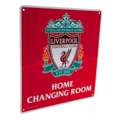 Μεταλλική διακοσμητική πινακίδα αποδυτηρίων Liverpool FC