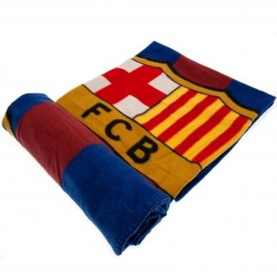 Fleece κουβέρτα Μπαρτσελόνα 150Χ125 cm  - Επίσημο προιόν (100-100-223)