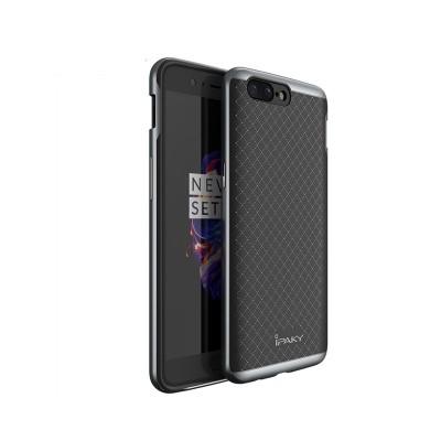 Θήκη Hybrid Case για OnePlus 5 Gray by IPAKY (200-102-259)