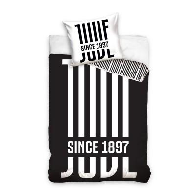 Juventus σετ παπλωματοθήκης 140x 200 cm - επίσημο προϊόν (100-100-897)