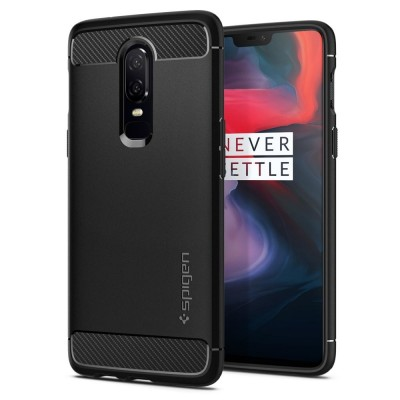 Spigen OnePlus 6 Rugged Armor Black (K06CS23358)