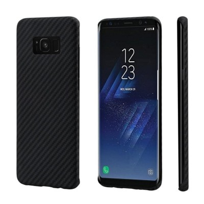Pitaka MagCase - Θήκη Kevlar Body Samsung Galaxy S8+ - 0.65mm - Black (200-102-957)