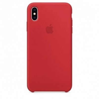 Apple Official Silicon Cover - Θήκη Σιλικόνης iPhone XS Max - Red (MRWH2ZM/A)