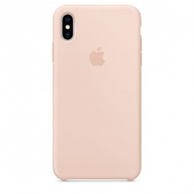 Apple Official Silicon Cover - Θήκη Σιλικόνης iPhone XS Max - Pink Sand (MTFD2ZM/A)