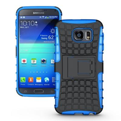 Ανθεκτική Θήκη Samsung Galaxy S6 μπλε -OEM (200-101-406)