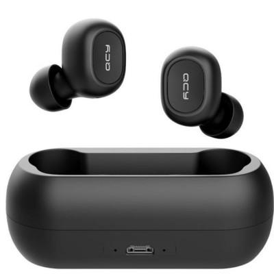 QCY T1C TWS True Wireless Earbuds 5.0 Bluetooth Headphones 80hrs