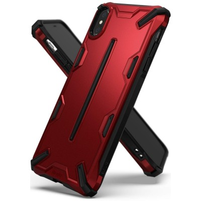 Ringke Dual X Θήκη iPhone XS Max - Iron Red (200-103-176)