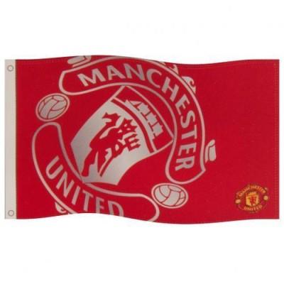 Σημαία Manchester United F.C - επίσημο προϊόν (100-100-316)