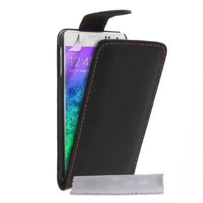 Θήκη για Samsung Galaxy Alpha  by YouSave Accessories μαύρη και δώρο screen protector