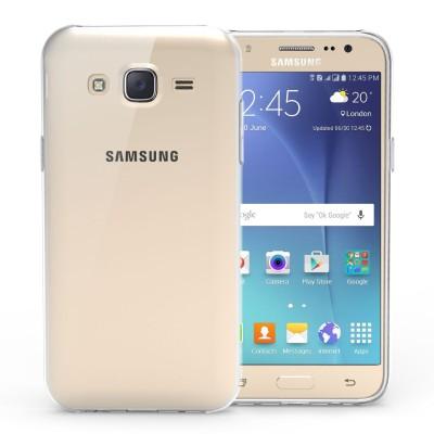 Θήκη σιλικόνης για Samsung Galaxy J5 διάφανη Slim  by YouSave και δώρο screen protector
