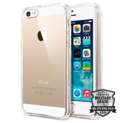Spigen iPhone 5 / 5s / SE Ultra Hybrid Crystal Clear (SGP10640)