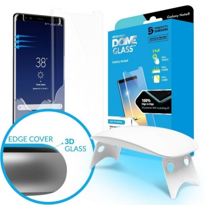 Whitestone Dome Glass - Liquid Optical Clear Adhesive & Installation Kit - Σύστημα προστασίας οθόνης Samsung Galaxy S8 Plus (200-103-749)