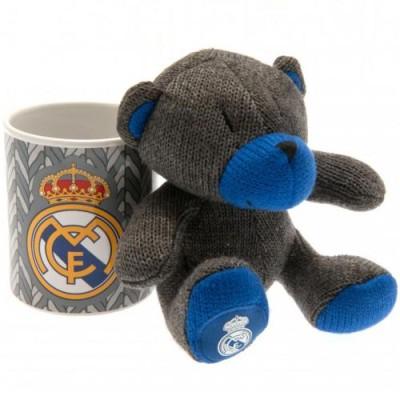 Κούπα Real Madrid Set με αρκουδάκι  (100-100-602)