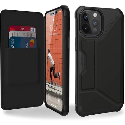 UAG Flip Θήκη Πορτοφόλι Metropolis Apple iPhone 12 Pro Max - Satin Black (112366113840)