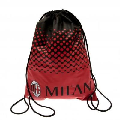 Τσάντα Γυμναστηρίου A.C  Milan. (100-100-141)