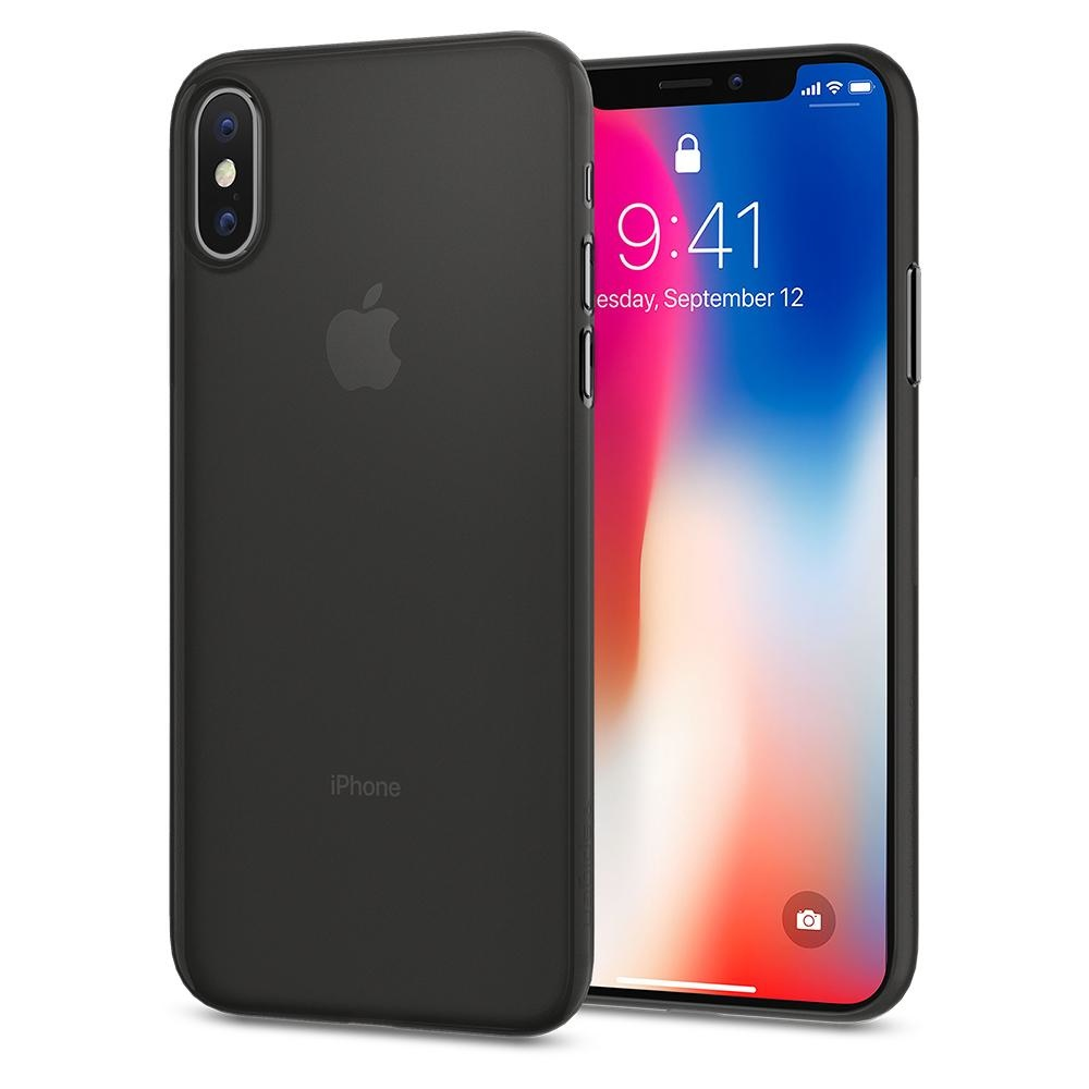 Spigen iPhone X Air Skin Black (057CS22114)