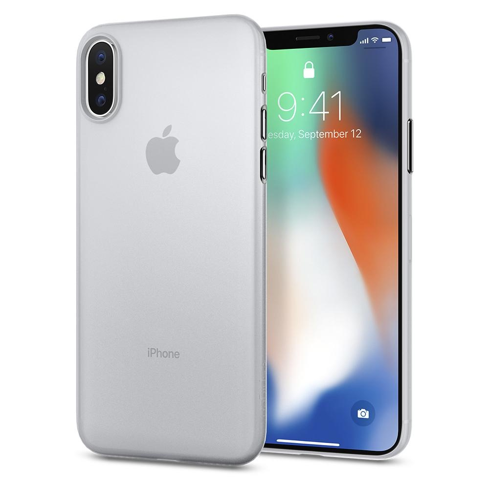 Spigen iPhone X Air Skin Soft Clear (057CS22115)