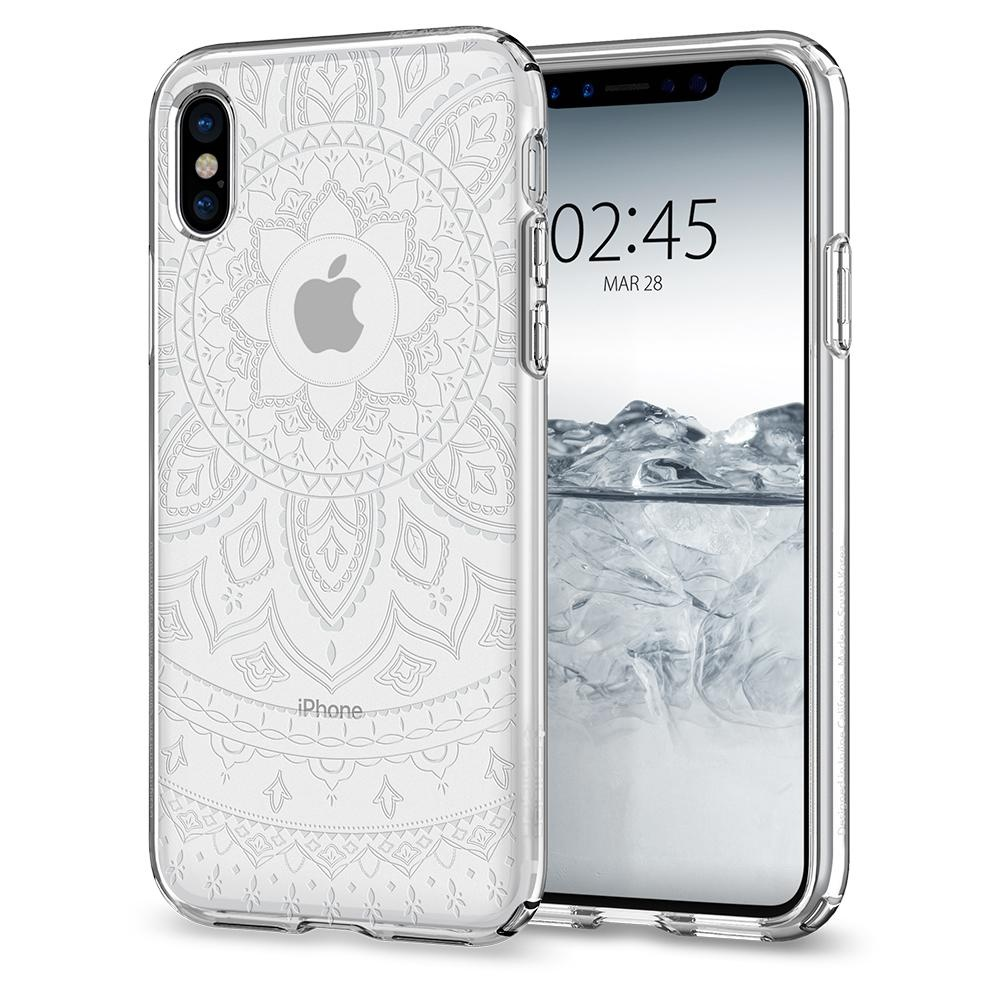 Spigen iPhone X Liquid Crystal Shine Clear (057CS22120)