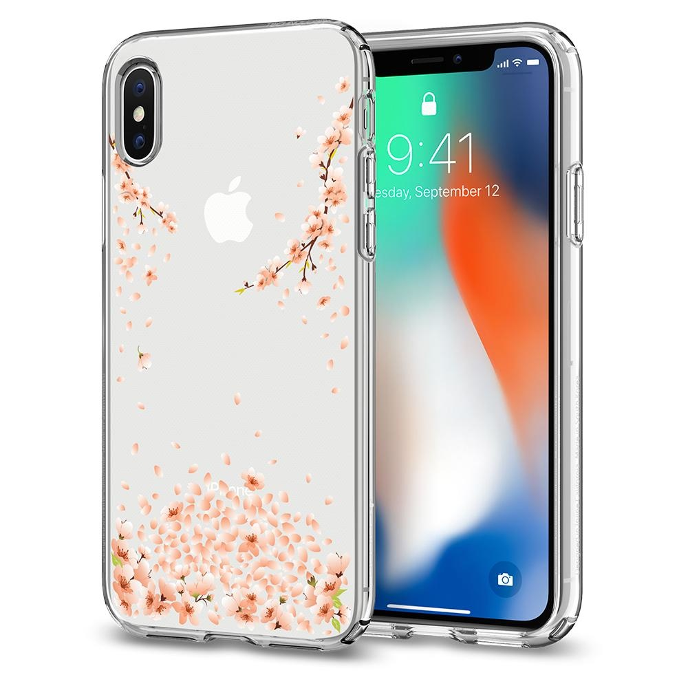 Spigen iPhone X Liquid Crystal Blossom Clear (057CS22121)