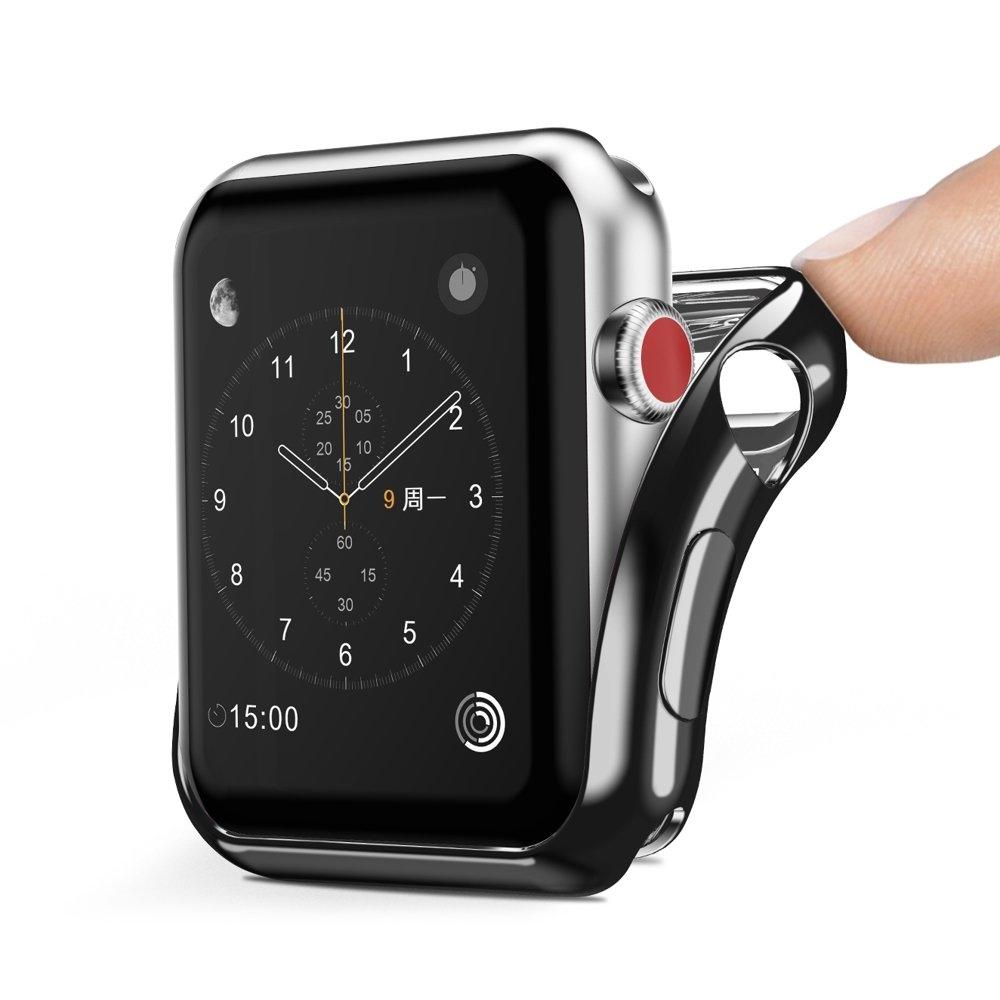 Dux Ducis Silicone Case μαύρη Apple Watch 42mm