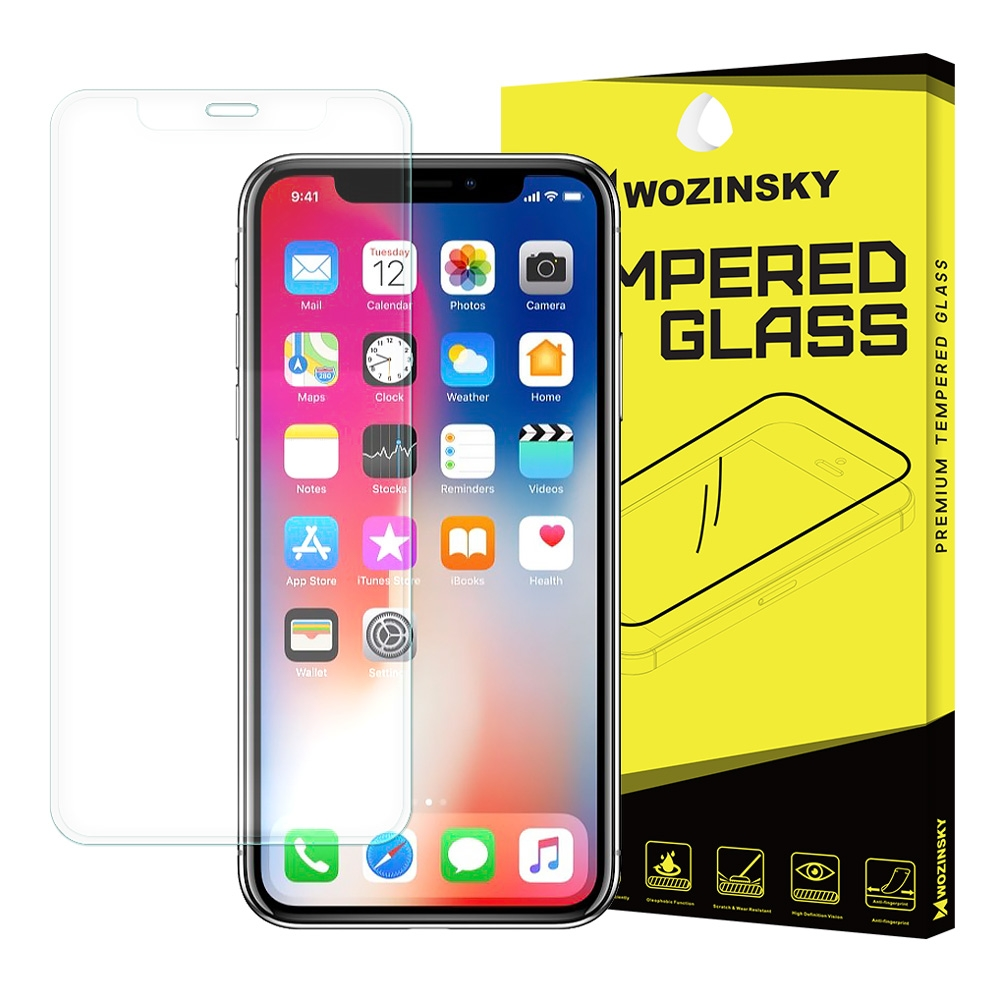 Full Cover Tempered Glass for iPhone X/Xs