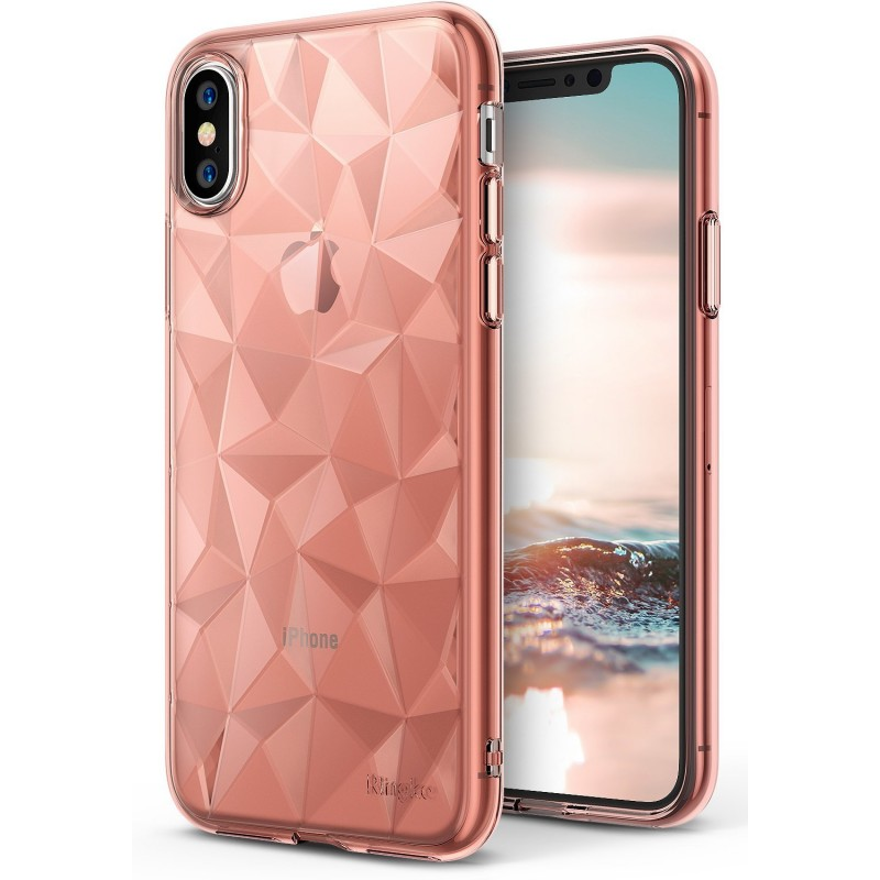 RINGKE AIR PRISM IPHONE X ROSE GOLD