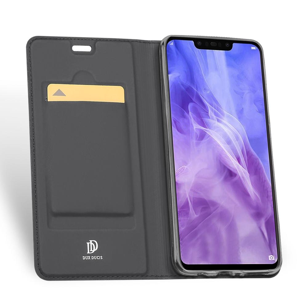 Θηκη πορτοφόλι για Huawei Nova 3 Gray