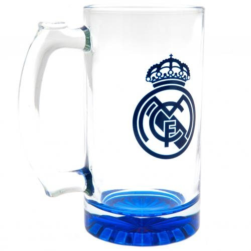 Real Madrid F.C. Stein Glass Tankard CC